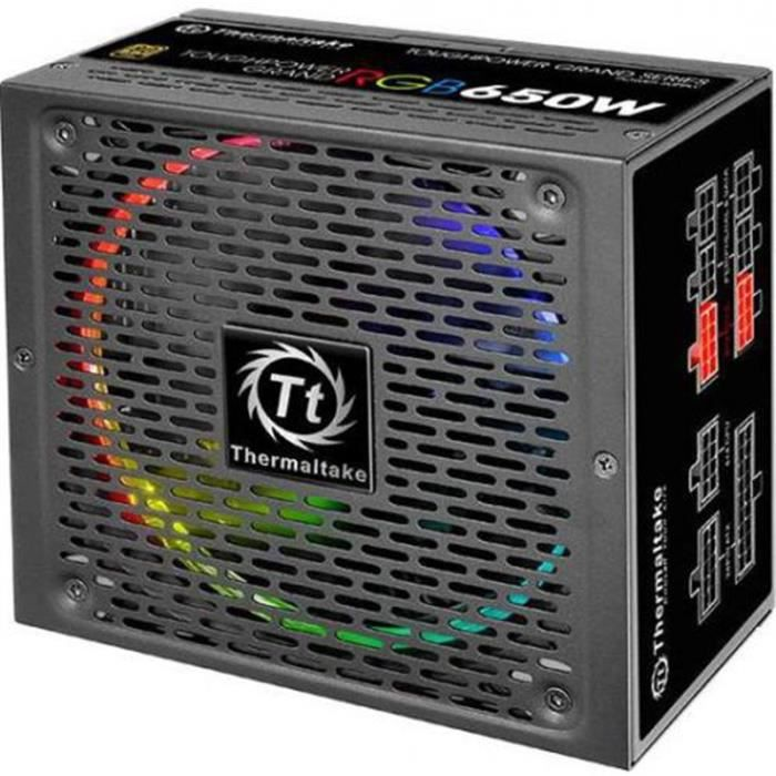Thermaltake Alimentation Pc Toughpower Grand Rgb 650W 80Plus Gold Modulaire