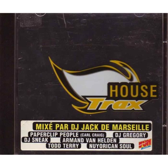 cd compilation House Trax Collectif