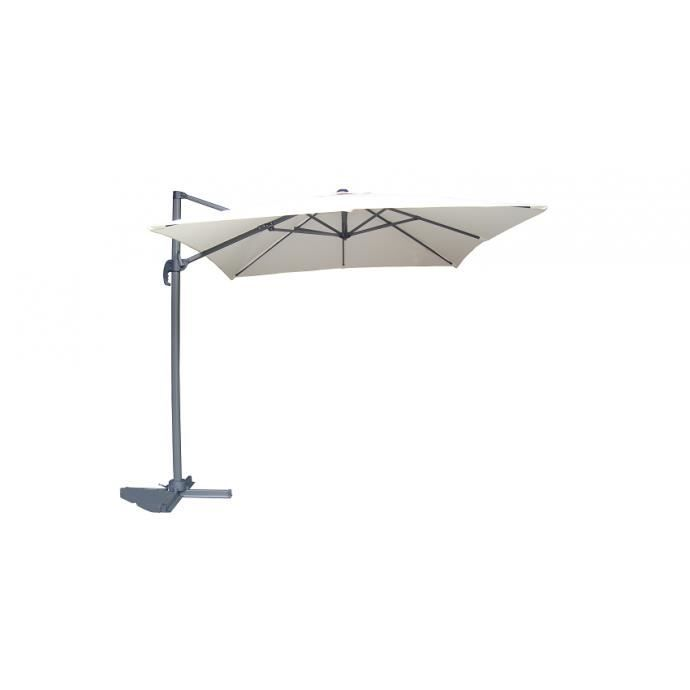 aquila cru parasol d port 2 5m x 2 5m achat vente parasol aquila cru parasol d port. Black Bedroom Furniture Sets. Home Design Ideas