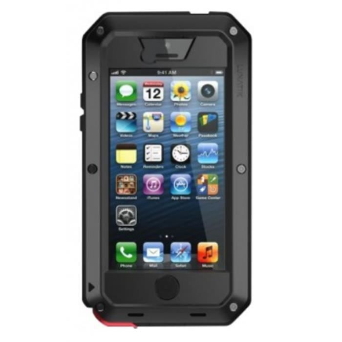 Iphone 5 5s coque tank lunatik achat coque bumper pas for Housse iphone 5 c