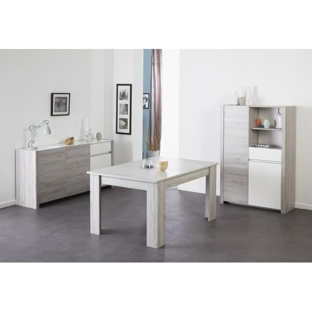 bahut chene portofino gris achat vente buffet bahut. Black Bedroom Furniture Sets. Home Design Ideas