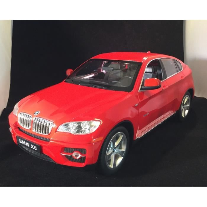 bmw x6 rouge 33 cm voiture radiocommandee rc achat. Black Bedroom Furniture Sets. Home Design Ideas