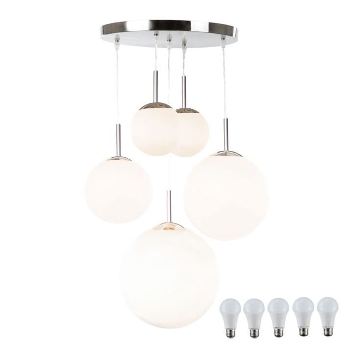Suspension Lampe Del 50 Watts Plafonnier Led Salle De Sejour