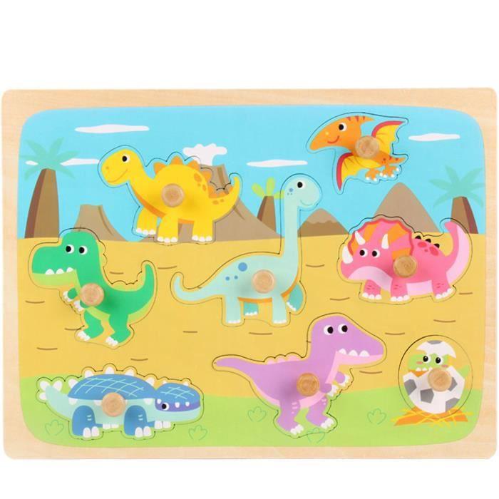 PUZZLE Puzzle Jouet en Bois jouet éducatif forme cognitio