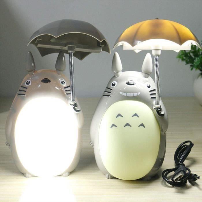 VEILLEUSE BÉBÉ Lampe à Poser LED Lampe de Chevet Totoro Accessoir