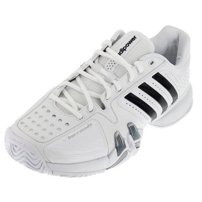Chaussure Tennis ADIPOWER BARRICADE Blanc G60520 Prix pas