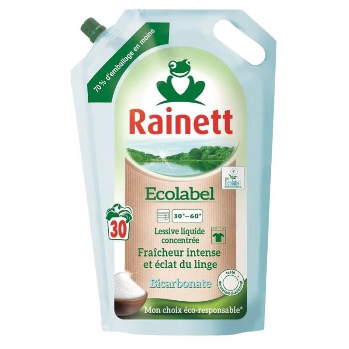 LESSIVE Rainett Ecolabel Lessive Liquide Concentrée Fraîch