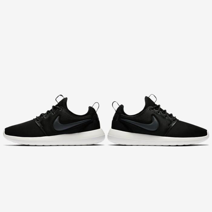 Basket Nike Roshe Two Modèle W 844931 002 Noir D52J8 Punishment