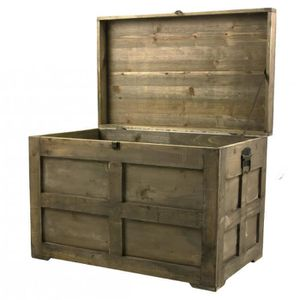 malle de rangement en bois achat vente malle de. Black Bedroom Furniture Sets. Home Design Ideas