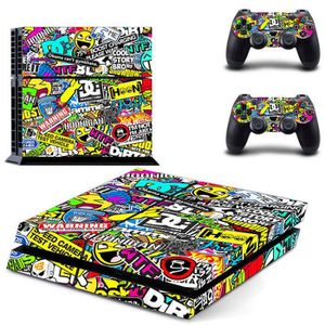 STICKER - SKIN CONSOLE Sticker Skin pour PS4 PlayStation 4 Console + Free