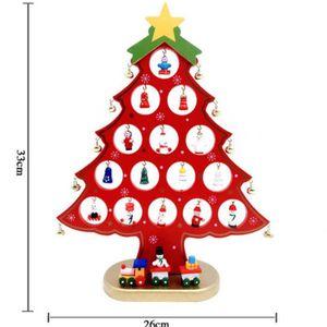 SAPIN - ARBRE DE NOËL Nouveau sapin de Noël en bois de bureau Petit Sapi