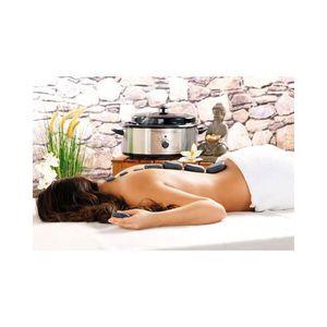 APPAREIL DE MASSAGE  Kit de massage Pierres Chaudes