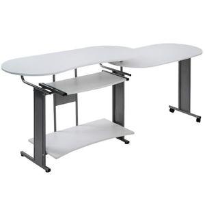 BUREAU  Bureau d'Angle Bureau Meuble Table d'Ordinateur Me