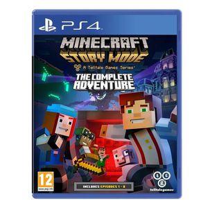 JEU PS4 Minecraft Story Mode : Complete Story : Playstatio