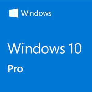 BUREAUTIQUE Licence Windows 10 Professionnel - Livraison -12h