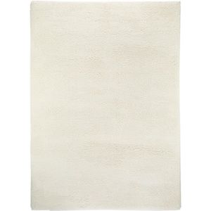 COUVERTURE - PLAID Tapis shaggy à poils longs Cosy Blanc 160x230 cm -