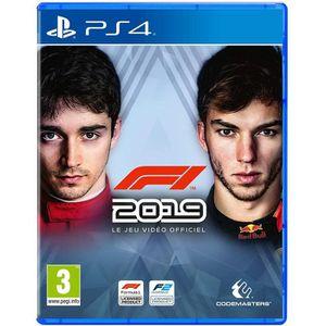 JEU PS4 F1 2019 Jeu PS4 + 1 Skull Sticker Offert