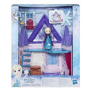 POUPÉE Disney Reine des Neiges Princess Mini-Poupée Chamb