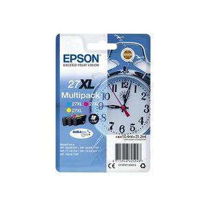 CARTOUCHE IMPRIMANTE EPSON Multipack T2715 - Réveil - Cyan, Magenta, Ja