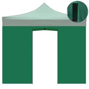TONNELLE - BARNUM Toile latérale 2 x 3 m avec porte pour tonnelle 3