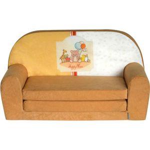FAUTEUIL - CANAPÉ BÉBÉ Mini-canapé lit enfant Happy Place