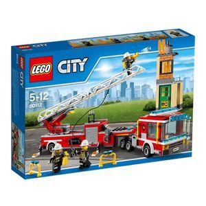 ASSEMBLAGE CONSTRUCTION Lego 60112 City : Le grand camion de pompiers