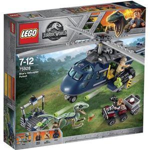 ASSEMBLAGE CONSTRUCTION LEGO® Jurassic World™ 75928 La Poursuite En Hélico