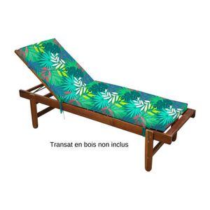 CHAISE LONGUE  Coussin pour Bain de soleil Polmao Tropical, dého
