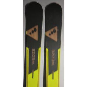 SKI Skis parabolique WED'ZE Samurai 500 + Fixations