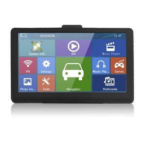 GPS AUTO Voiture GPS Navigation FM 7 pouces écran capacitif