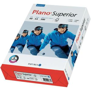 PAPIER IMPRIMANTE Ramette de papier Plano Superior PAPYRUS A4, 60…