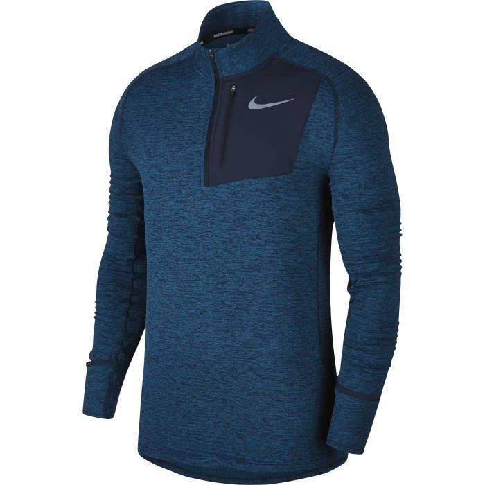 NIKE Sweat-shirt Therma Sphere Element - Homme - Bleu