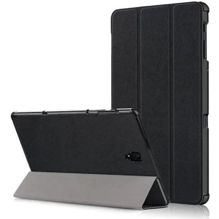 Housse Samsung Galaxy Tab A 10.5 SM-T590 SM-T595 Protection fonction Réveil -sommeil automatique Housse - Noir