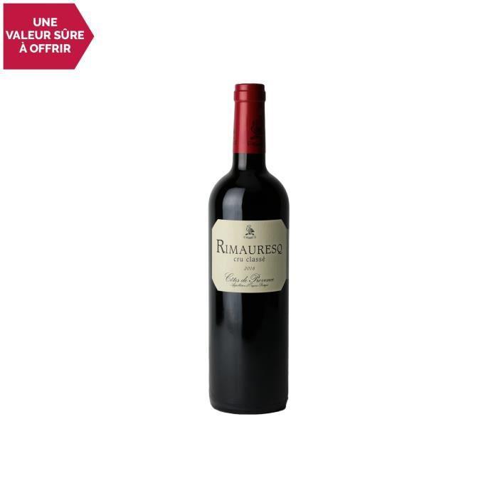 Côtes de Provence Rimauresq Cru Classé Rouge 2016 - 75cl - Domaine de Rimauresq - Vin AOC Rouge de Provence - Cépages Syrah,