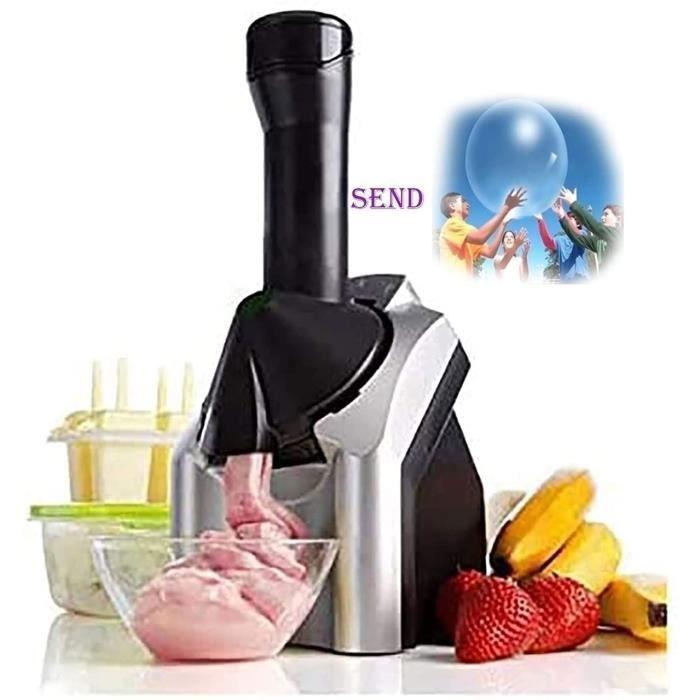 Machine a Crème Glacée a La Maison Et Machine a Crème Glacée Électrique a Dessert Glacé Aux FruitsSorbet Électronique de Machine a