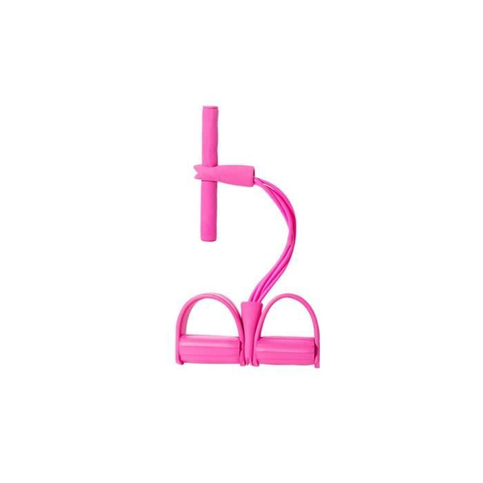 Bandes élastiques de traction de ceinture de résistance de ventre de rameur d'exercice de cordes élastique JS10431