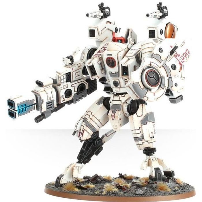 Games Workshop XV104 Riptide Battlesuit, Figurine à collectionner, Jeu vidéo, Gris, Adultes et enfants, Warhammer 40000, Plastique