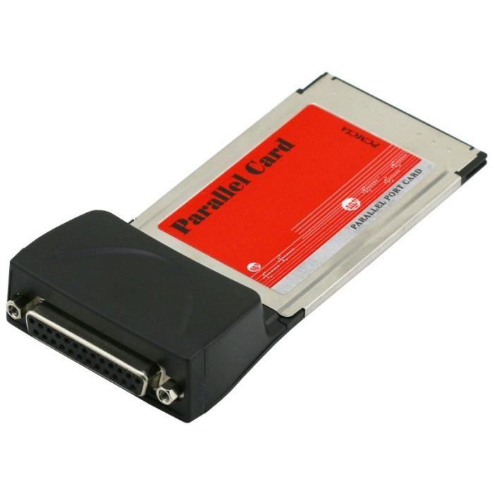 Kingwing® DB25 Périphérique de Port parallèle imprimante LPT pour PCMCIA PC Card