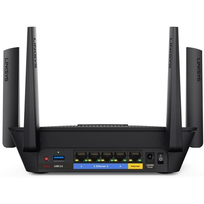 LINKSYS Routeur EA8300 Wifi Gigabit Ethernet - 4 Ports - Tri-bandes - MU-MIMO
