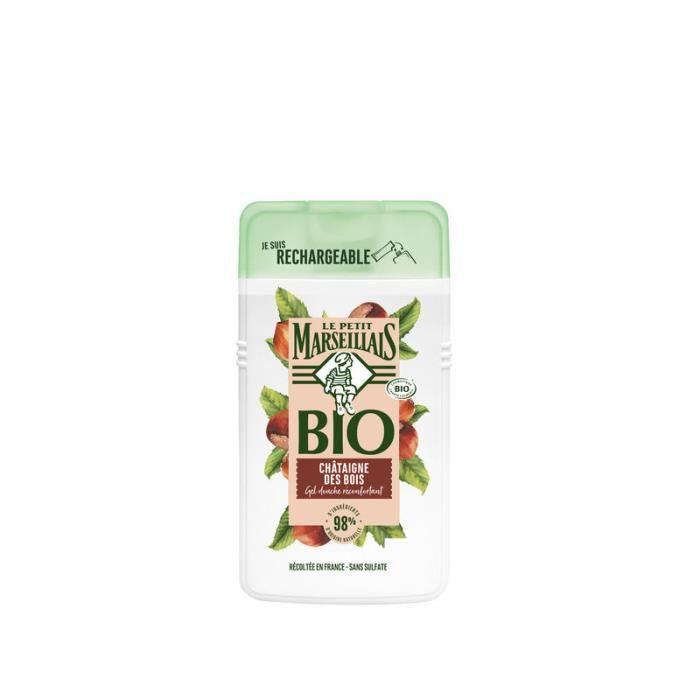 LE PETIT MARSEILLAIS Gel douche réconfortant châtaigne des bois Bio - 250 ml