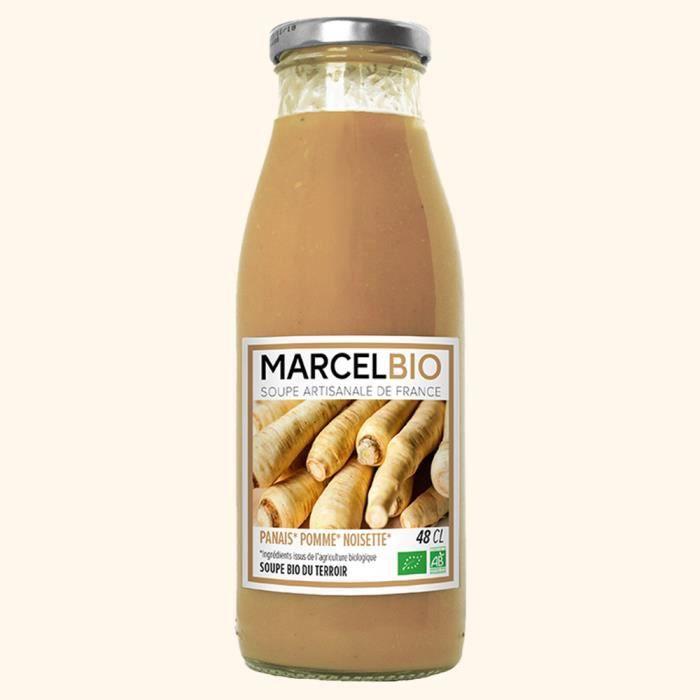 Marcel Bio - Soupe Panais Pomme Noisette Bio 48cl