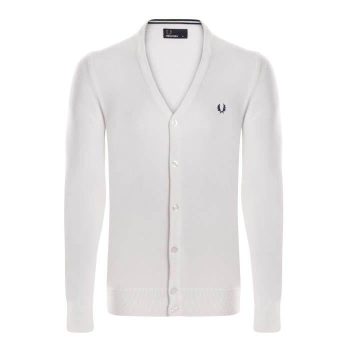 Fred Perry Pull Cardigan Hommes