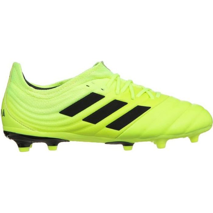 ADIDAS PERFORMANCE Chaussures de Football Copa 19.1 FG J - Enfant - Jaune/Noir
