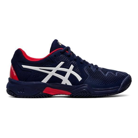Chaussures de tennis junior Asics Gel-Resolution 8 Clay
