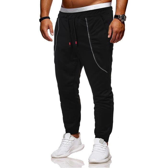 Survêtement pour hommes de mode d'été Slim Fit Pantalons de survêtement de sport décontractés Noarlall