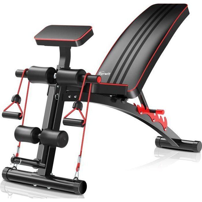 NSGMXT Multifonctionnelle Table de Levage Banc Haltère Pliante Réglable pour l'entraînement Physique