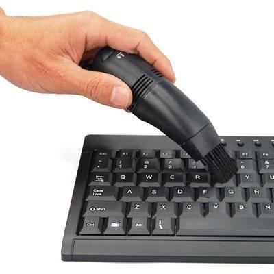Mini aspirateur USB pour SAMSUNG PC & MAC Nettoyer Clavier Portable Ordinateur NOIR