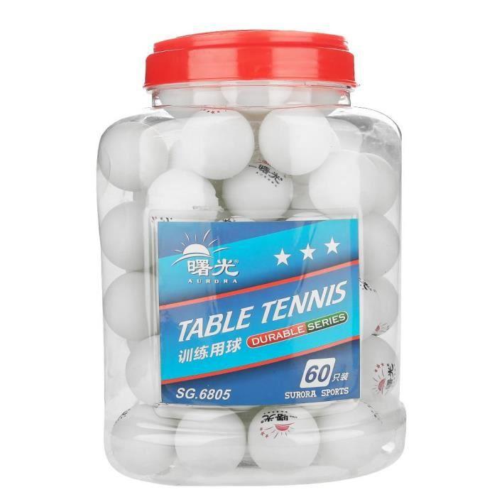 HOUSSE TENNIS DE TABLE ROMANTIC 60 balles de ping-pong pour balles de ten
