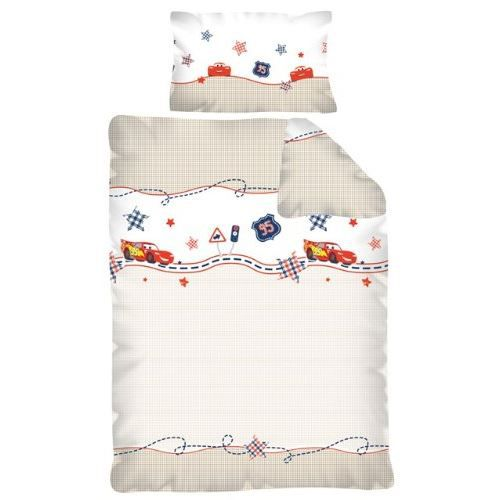 parure de lit b b junior cars disney achat vente. Black Bedroom Furniture Sets. Home Design Ideas