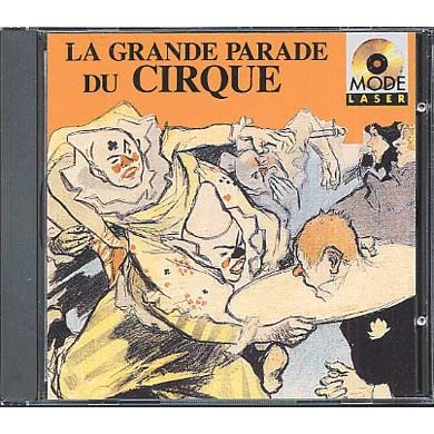 La grande parade du cirque achat cd cd pop rock ind - Boutique du grand cirque ...
